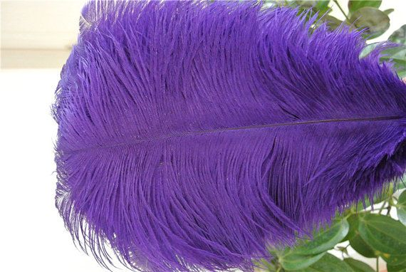 100 pcs 18-20inch purple ostrich feather plumes for wedding centerpieces wedding decor party event supply