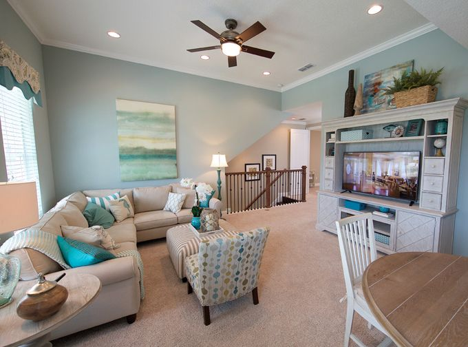 Coastal Inspired Family Room Mattamy Homes