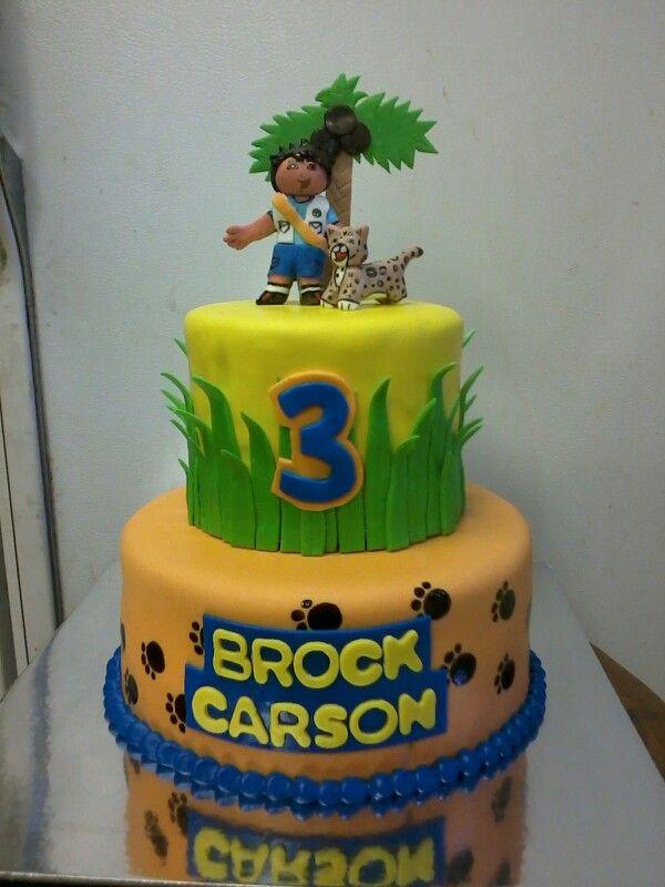 Fondant Birthday Cakes San Diego