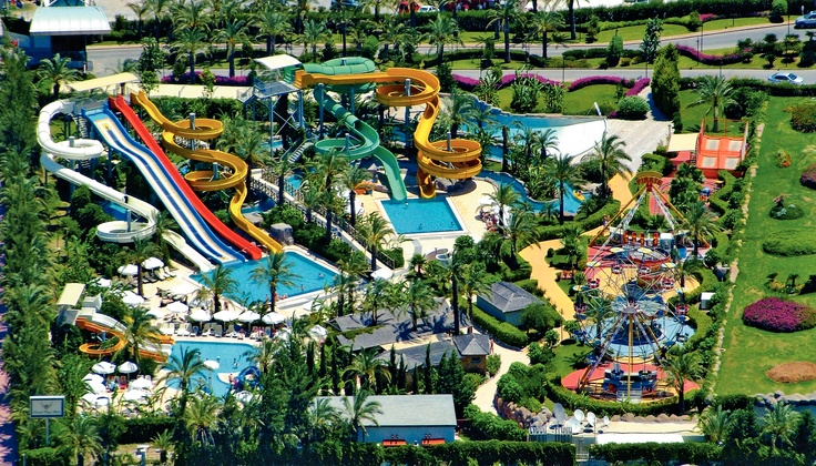 Family holidays don't get much more dynamic than at the Royal Wings Hotel in Lara Beach, #Turkey. Ride the menacing waves of the Phantom slide, or take things easy floating along the lazy river. Set within beautiful grounds, this exciting aqua park with 6 adventure slides and 3 kids' slides is bursting with fun for all! http://www.thomascook.com/holidays/turkey/?utm_medium=soc&utm_source=pinterest&utm_campaign=engage&utm_content=posting