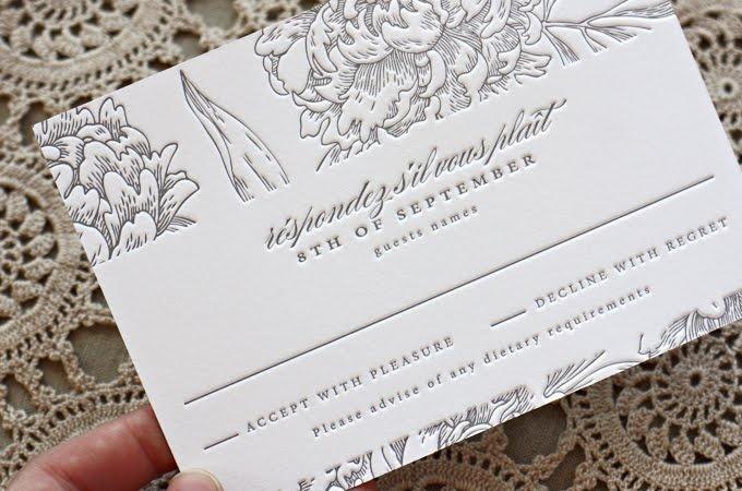 Bespoke Press: Weddings