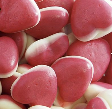 Jelly Filled Hearts  Lolly Mail is an online chocolate gifts and lolly gifts delivery service. Pick a jar size and fill it with their favourite lollies and chocolate, over 100+ varieties to choose from. Free Delivery.