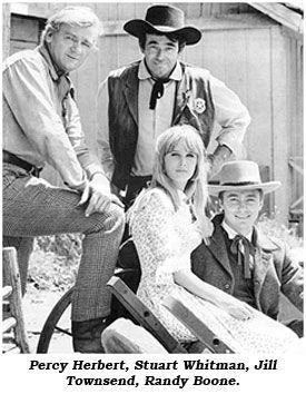 Cimmaron Strip- Percy Herbert, Stuart Whitman, Jill Townsend, Randy Boone.