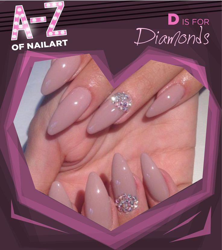 D is for Diamonds #A-ZNailArt