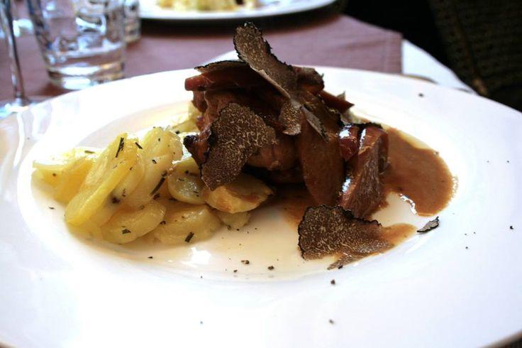 Il #tartufo nero c/o Hotel Palazzo Lovera www.palazzolovera.com/it/ - #socialFoodeWine #Cuneo #piemonte - ph. C. Pellerino