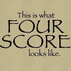 80th Birthday Gift Ideas Men | four_score_baseball_cap.jpg?height=250&width=250&padToSquare=true