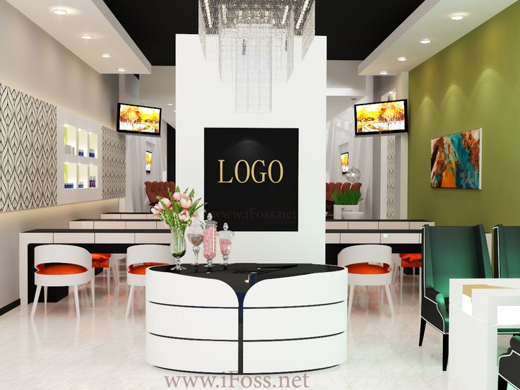 Nail Salon Design After Our Customer Approves 2 Initial Views And Deposits 50