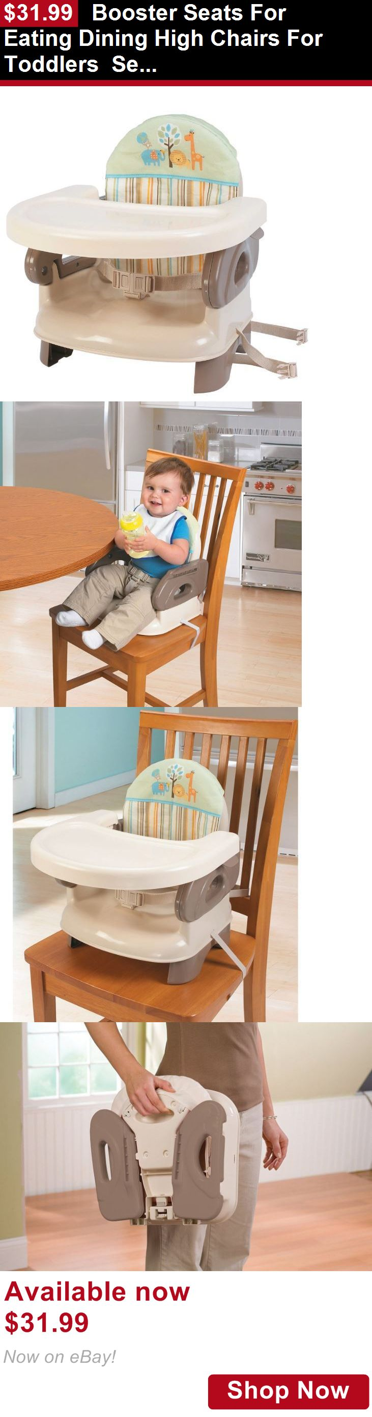 Booster Chairs: Booster Seats For Eating Dining High Chairs For Toddlers Seat Folding Infant BUY IT NOW ONLY: $31.99