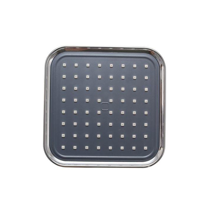 Klaxon Zippy 6x6 (Inches) Shower Head Chrome Finish -Shower_head #Kriosdirect