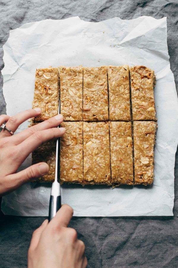 Healthy soft breakfast bars recipe
