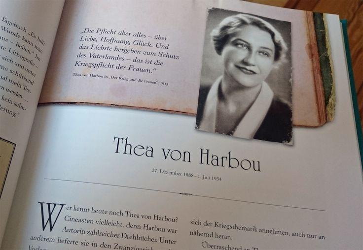 """""""Wer kennt heute noch Thea von Harbou?"""" (Antonia Meiners) ... na ja, so einige, und die erkennen (auch) Fehler in Buchbeiträgen """"sofort""""!"""