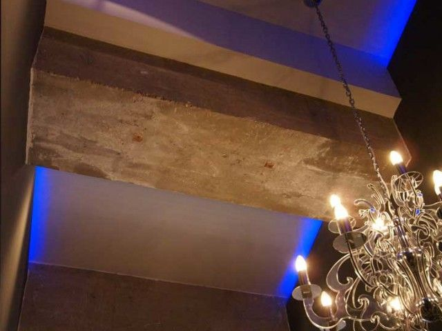 Lampara de techo y iluminación led RGB. Decoración Alado