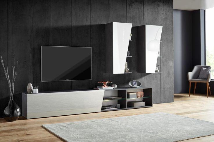 Stunning Wohnzimmermöbel Weiß Hochglanz Contemporary - Ideas ...