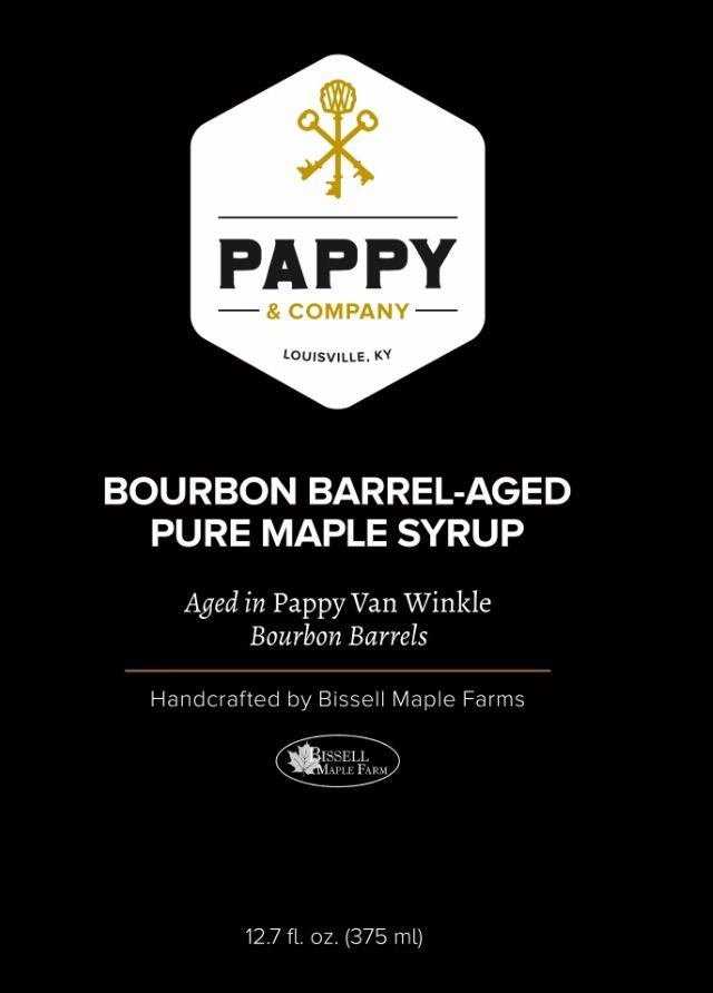 Barrel-Aged Pure Maple Syrup aged in Pappy Van Winkle Bourbon Barrels - Pappy & Co