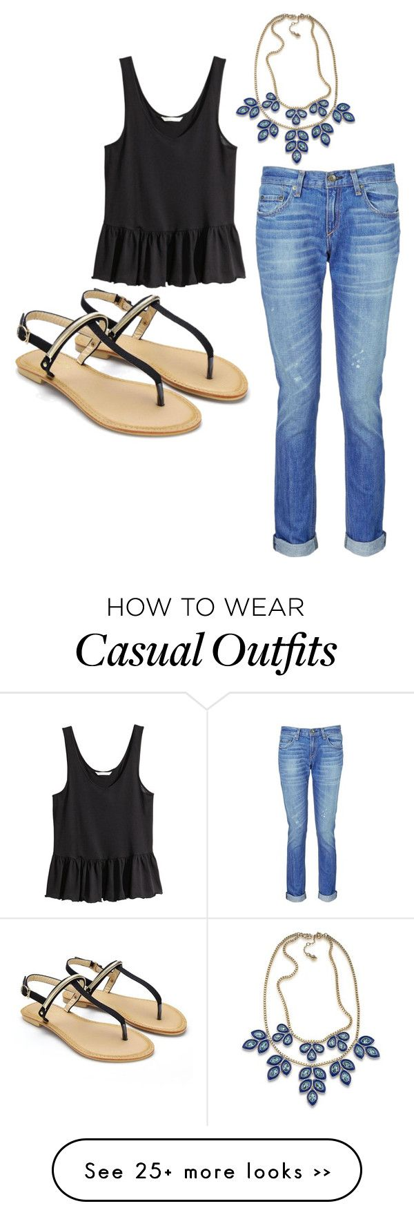 """""""casual"""" by makennawillow on Polyvore"""