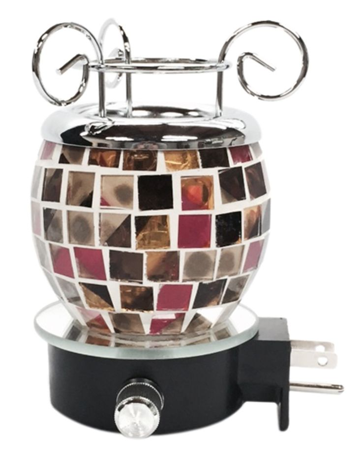 Mosaic Tile Electric Oil Warmer Night Light