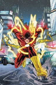 """A BRIGHTEST DAY tie-in! Get in on the ground floor of DC's next epic in the making! The Flash races out of BLACKEST NIGHT and into his own monthly title as the all-new adventures of The Fastest Man Alive start with """"Case One: The Dastardly Death of the Rogues!"""" Barry Allen runs back to his life in Central City, but when one of the Rogues turns up murdered under mysterious circumstances, it's up to The Flash to not only solve this bizarre crime, but protect those that are still targeted by…"""