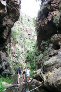 Sederkloof Hiking Trail & accommodation. Eastern Cape. South Africa.