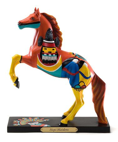 Hopi Maidens Horse Figurine by The Trail of Painted Ponies