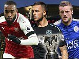 Leicester City will attempt to halt Manchester City's fantastic winning run as they host Pep Guardiola's side on Tuesday night. In the other fixture, Arsenal take on West Ham United at the Emirates for a place in the semi-finals. Follow all of the action as it happens with Sportsmail's TOM FARMERY. For users viewing this on the app, click here for live blog access on the mobile site.