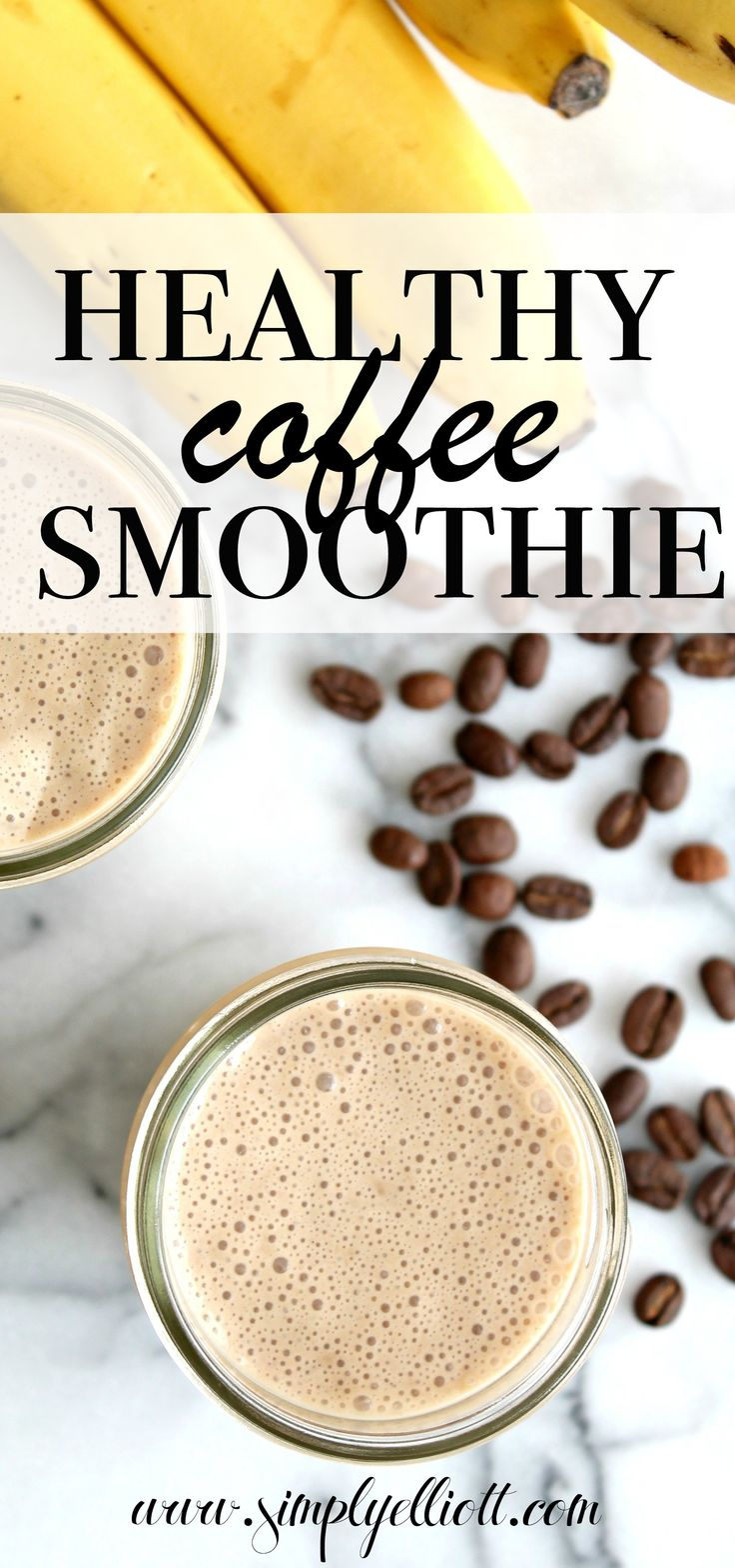 This healthy coffee smoothie is my go to option during the warmer months. It's packed with protein and caffeine, plus is tastes incredible!