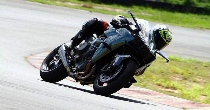 Kawasaki Ninja H2R chega em julho para ser moto mais potente, rápida e... cara à venda no Brasil: R$ 350.000