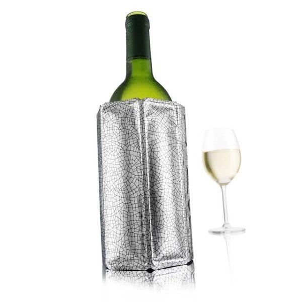 Afbeelding bij Vacuvin Active Wine Wijnkoeler - Zilver