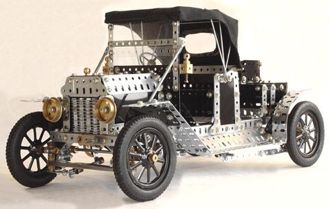 Meccano Model T by Dave Denner