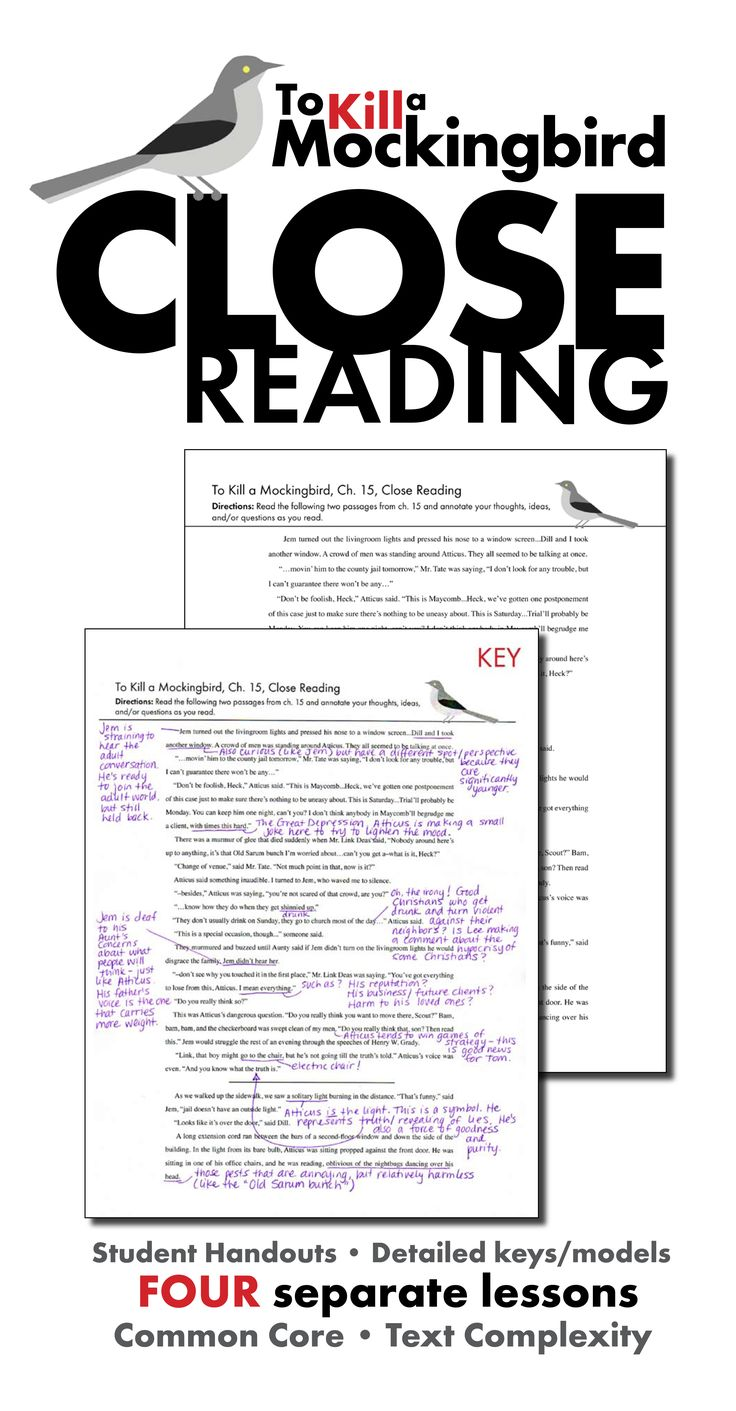 17 best ideas about to kill a mockingbird atticus help your students learn how to dig deep into analyzing text these four separate close middot classroom tkamclassroom
