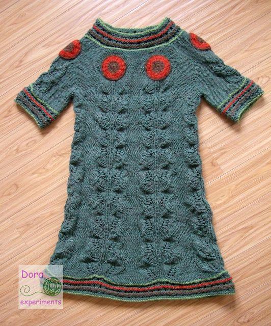 Dora experiments: 26. Sukienka w słoneczniki / Sunflower dress