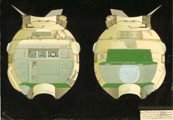 infiniteinterior: Soviet spacecraft interiors ... / BARTLETT LIVING LABORATORY
