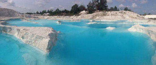 Danau Kaolin - Pulau Belitung - .Indonesia..