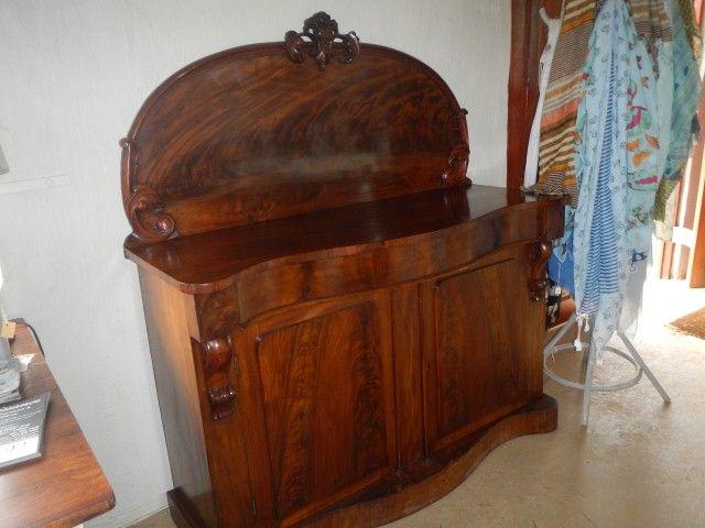 Victorian Flamed Mahogany Serpentine Chiffonier R6900