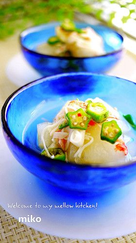 Winter Melon and Okra soup
