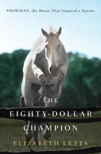 This book is about a plow horse that was sold for $80 and the owner thought snowman the horse had no chance at being a show horse but things change when he found out that the large plow horse could jump a five feet jump and with practice the $80 plow horse named snowman one the madison square garden hunter competition