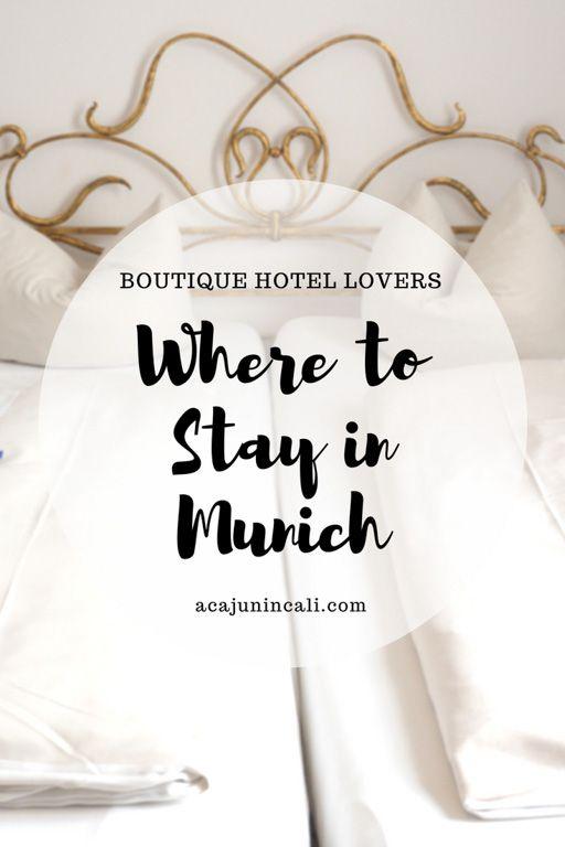 Best hotels in Munich | Munich hotels | Hotels in Munich | Munich accommodation | Where to stay in Munich | Cheap hotels in Munich | Boutique hotel Munich | places to stay in Munich via @acajunincali