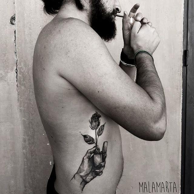 From my rotting body, flowers shall grow and I am in them and that is eternity.  @malamartaandink  @tttism @tattrx @blackworkers @inkstinctofficial #tattoo #tattoolookbook #beard #guywithtattoos #beardstyle #hand #handtattoo #lighter #zippo #rose #tattoorose #zippotattoo #beardedmen #blackartist #blackworkers #blackwork #onlythedarkest #darkartists #illustration #tattooillustrations #inkedbeards #tattoolife #inkedlife #inkstinctsubmission #tttism #blxckink #malamartaandink