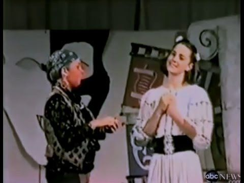 Kate Middleton in a school play (1995)
