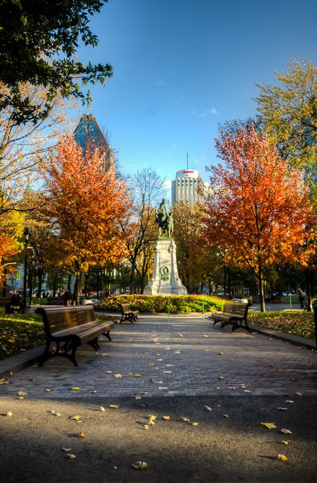 Montreal In Pictures | Dorchester Square