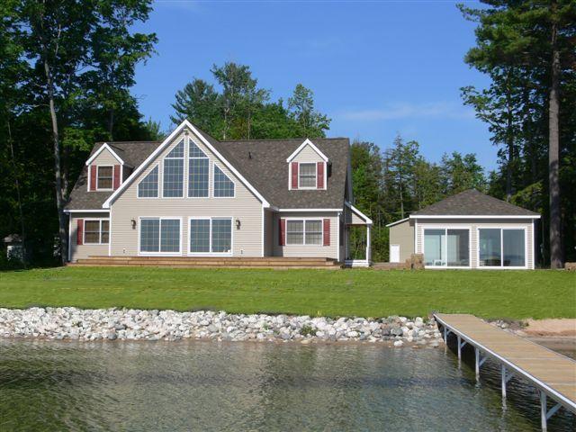 Cape Cottage Modular Home.