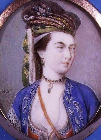 Gervace Spencer (1715-1763) Lady Mary Wortley Montagu