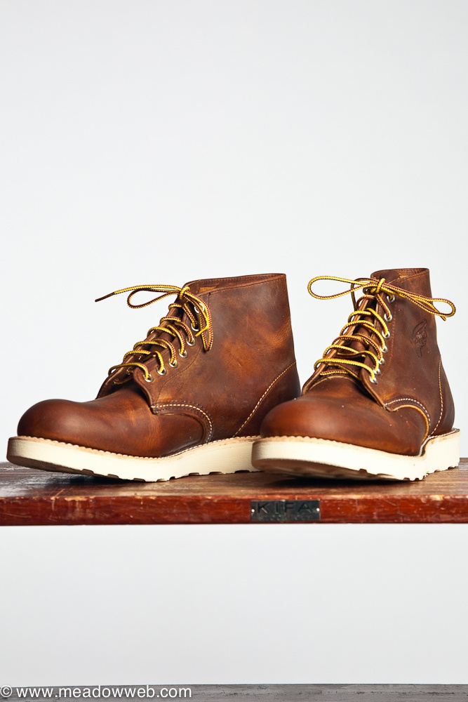 Red Wing 9111 Round Toe Copper