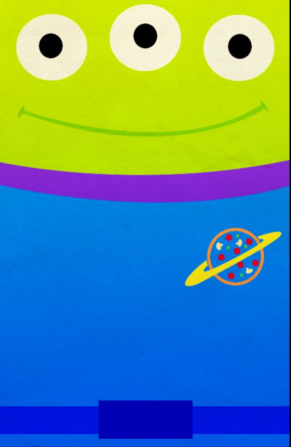 Alien From Toy Story Disney Iphone Background By Petitetiaras