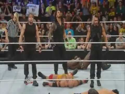 WWE Smackdown The Shield attack's everyone
