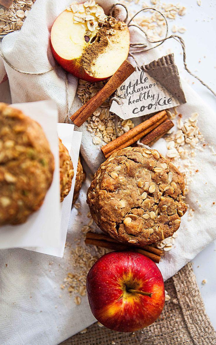 Apple & Cinnamon Muesli Cookie