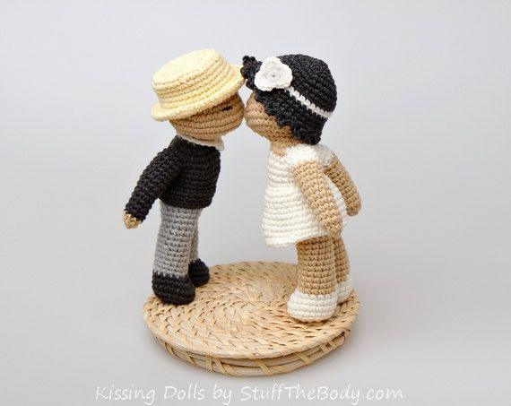 Baisers poupées Amigurumi Pattern cadeau de par StuffTheBody