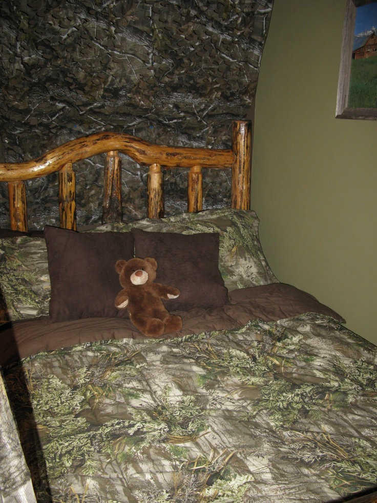 camo boys rooms | ... : How to decorate a boys room in a hunting realtree camo theme