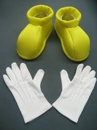 Resultado de imagen para molde de zapatos de mickey mouse
