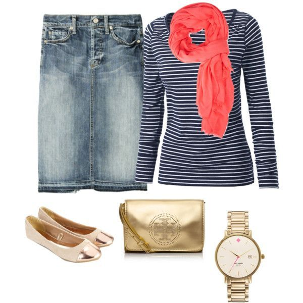 Very casual but cute at the same time.