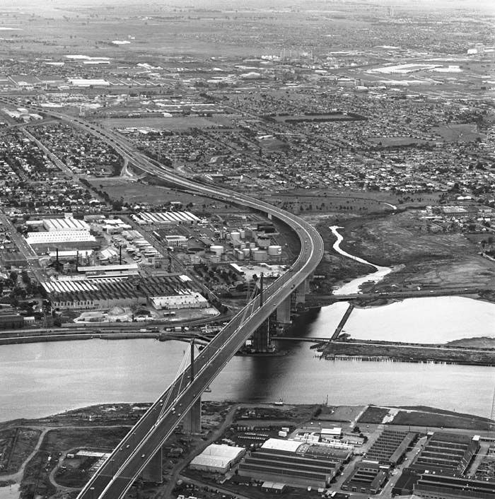 Melbourne's West Gate Bridge is completed. Melbourne's West Gate Bridge is…